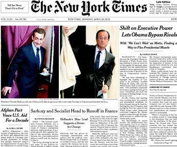 Journal américain new york times