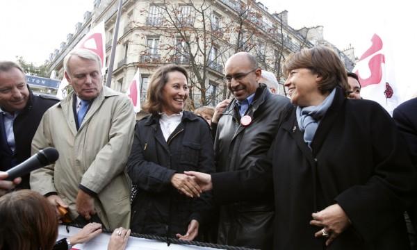 ayrault_segolene_royal_harlem_desir_martine_aubry Parti socialiste