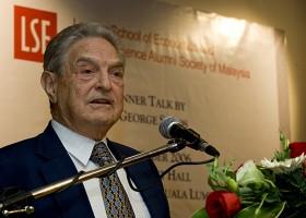 Soros_talk_in_Malaysia