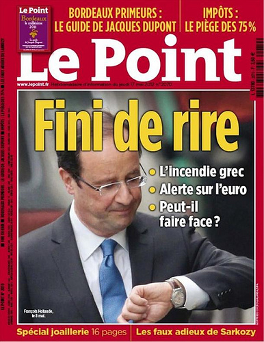 hollande_montre Patrick Peccatte