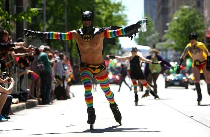 The Gay Knight Rises