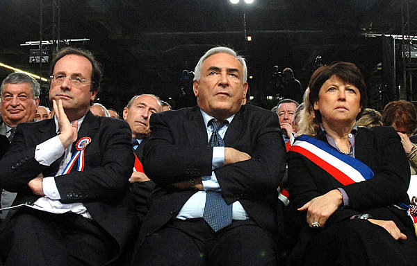 Hollande-DSK-AUbry