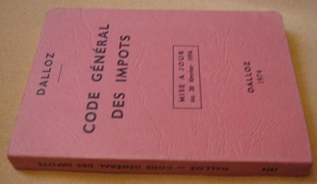 Code_des_impots_francais_1974